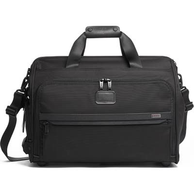 Tumi Alpha 3 Collection Framed Soft Duffle - Black