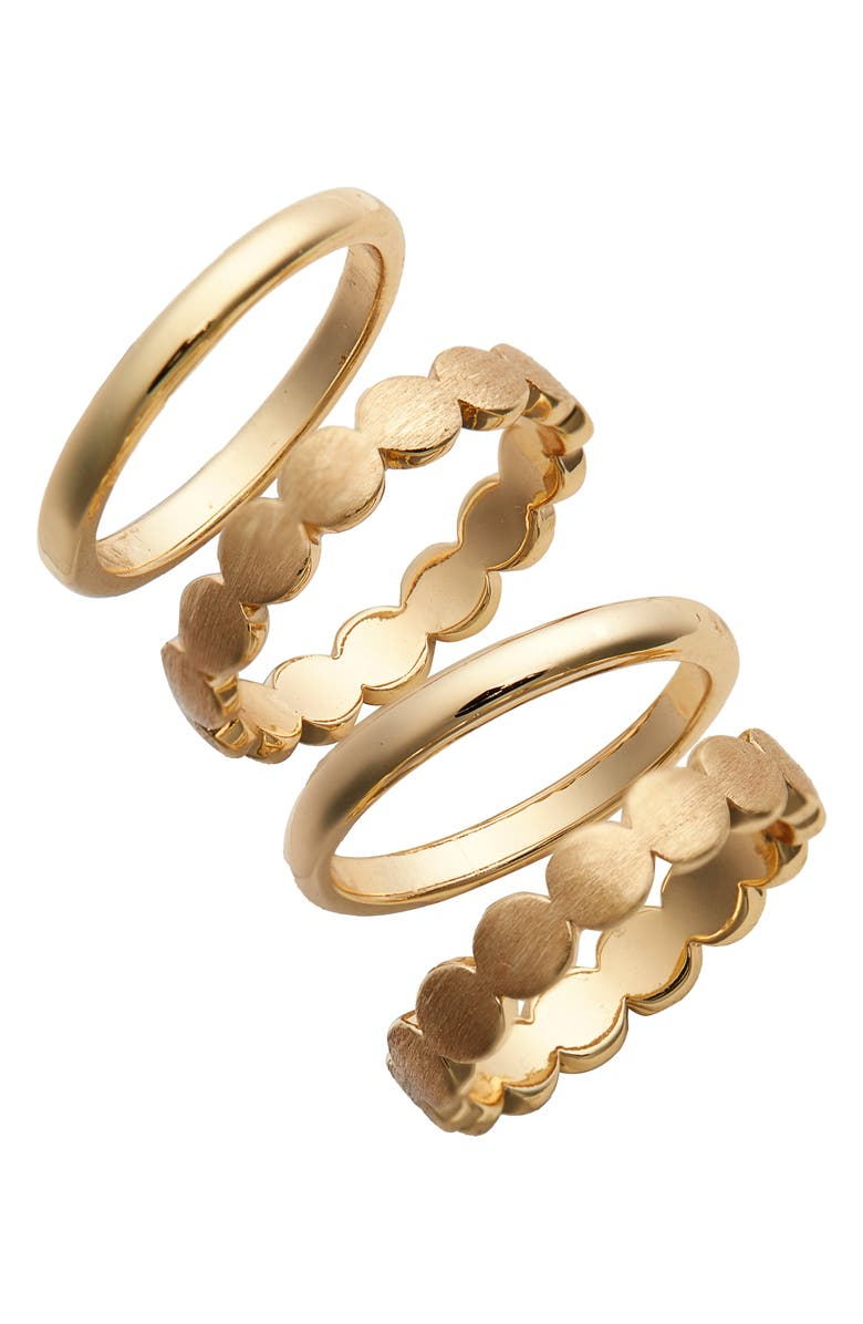HALOGEN<SUP>®</SUP> Set of 4 Stacking Rings, Main, color, 710