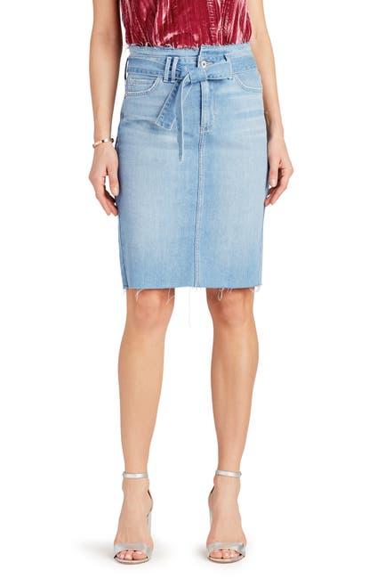 Image of Sam Edelman The Riley Belted Denim Skirt