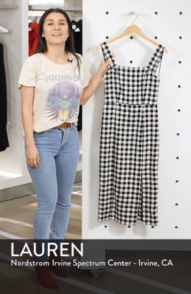 Gigi Gingham Midi Sundress, sales video thumbnail