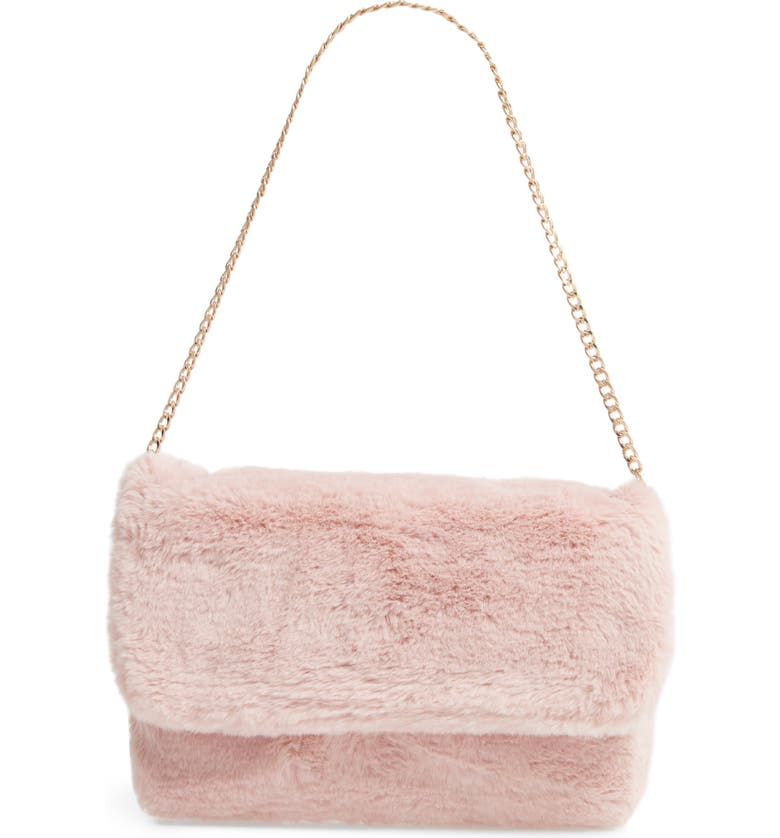 RACHEL PARCELL Faux Fur Shoulder Bag 原價港幣662.69 優惠價397.61