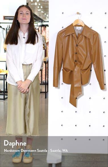 Poppy Faux Leather Jacket, sales video thumbnail