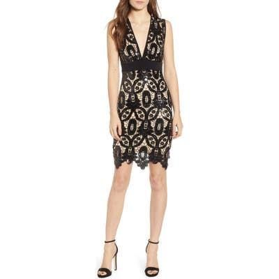 Sentimental Ny Sequin Sheath Dress, Black