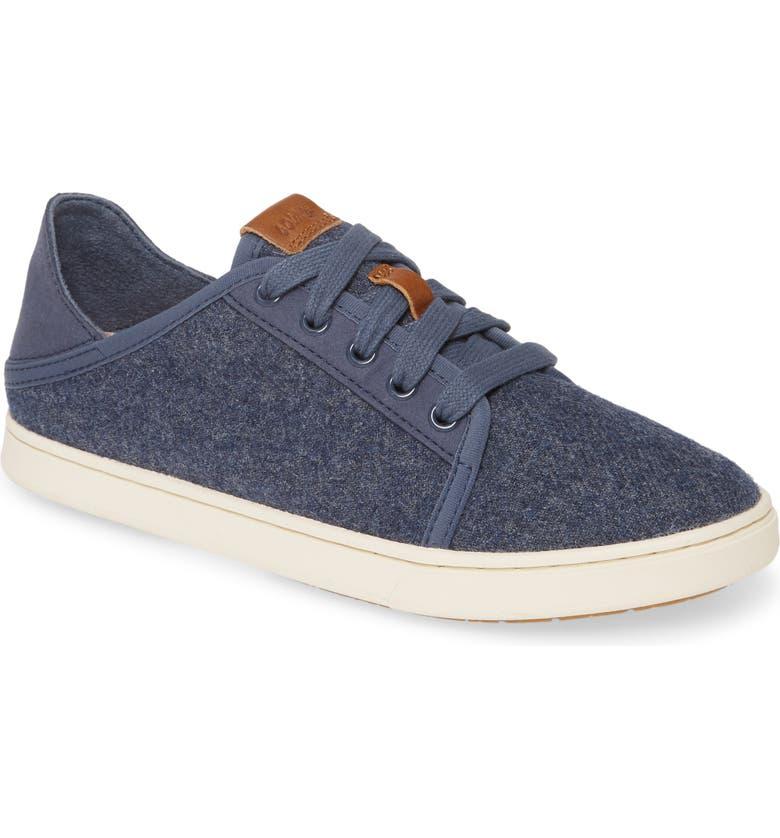 OLUKAI Pehuea Li Hulu Convertible Sneaker, Main, color, VINTAGE INDIGO WOOL