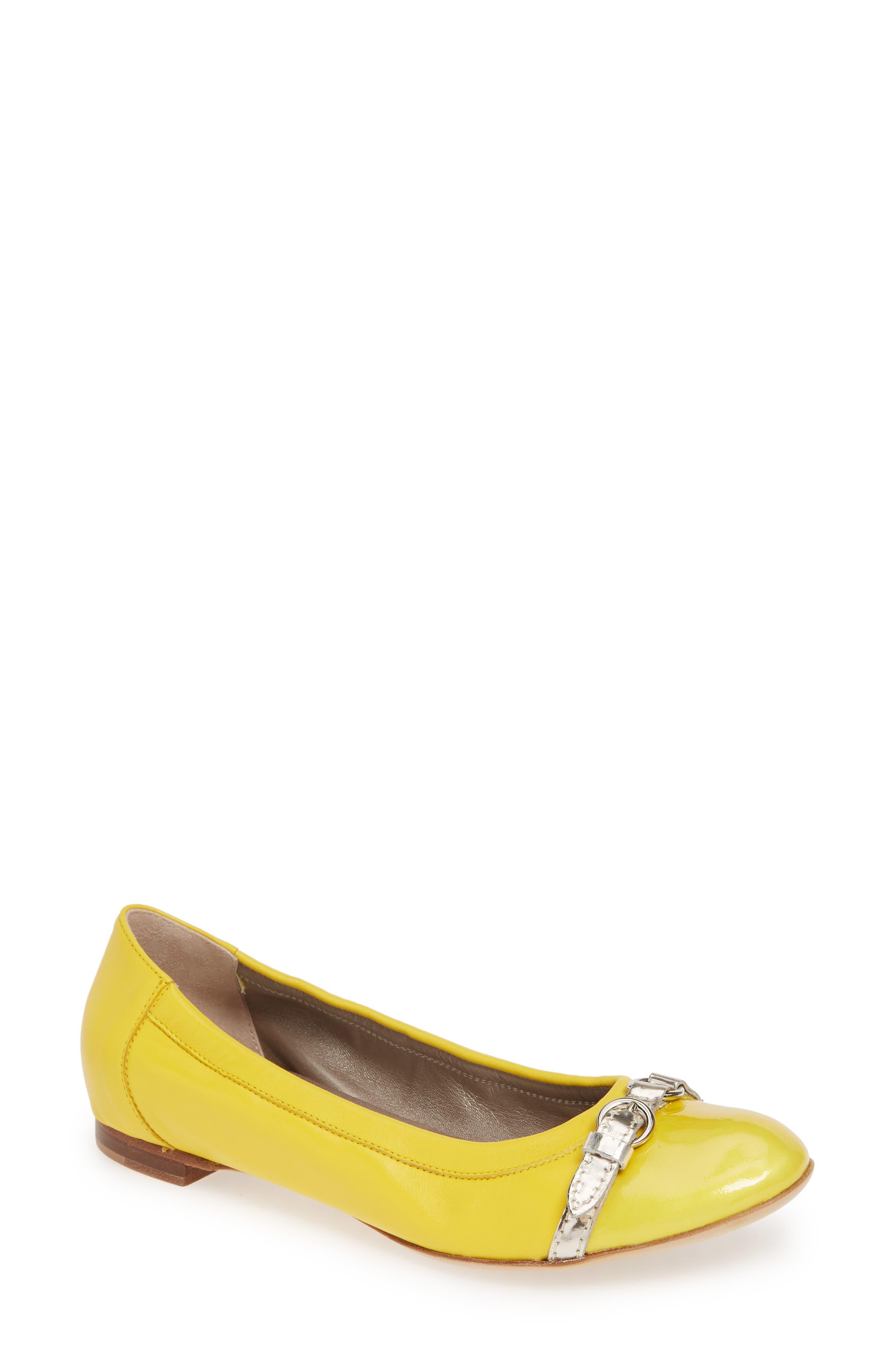 Agl Cap Toe Ballet FlatUS / 42.5EU - Yellow