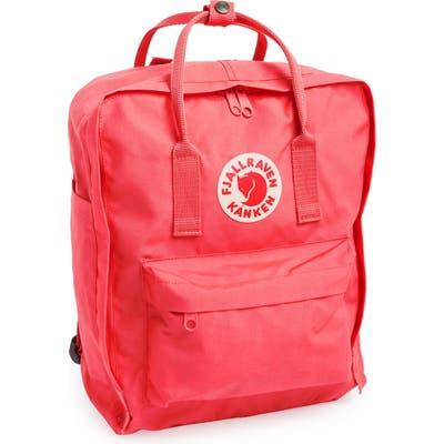 Fjallraven Kanken Water Resistant Backpack - Coral