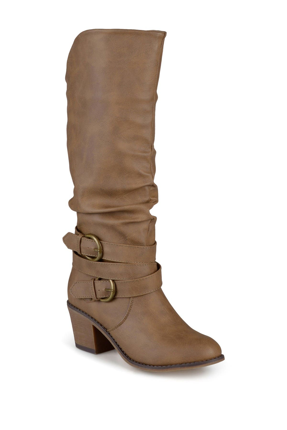 Journee Collection LATE BUCKLE TALL BOOT