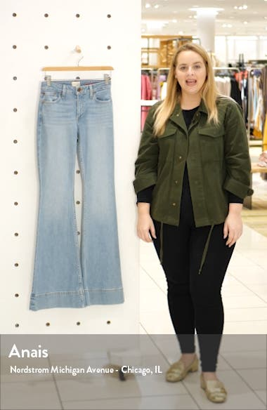 Beautiful Mid-Rise Bell Bottom Jeans, sales video thumbnail