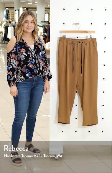 Henderson Crop Drawstring Pants, sales video thumbnail