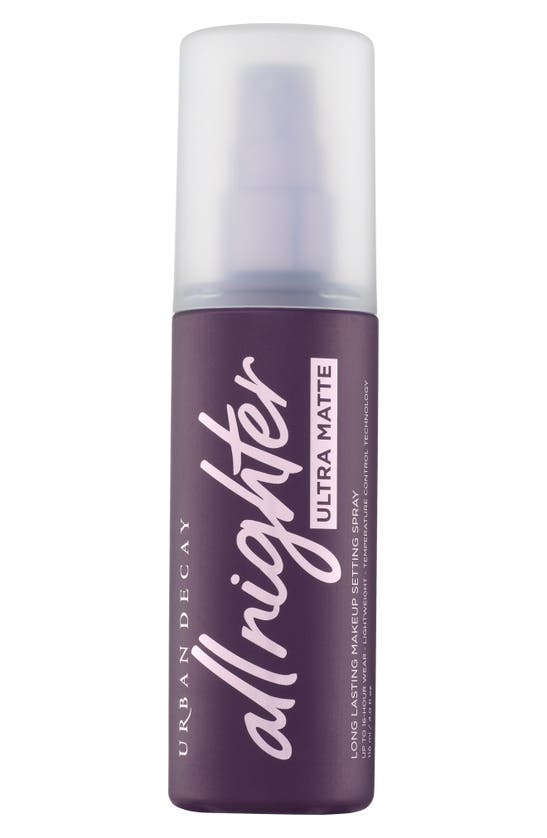Urban Decay All Nighter Ultra Matte Makeup Setting Spray 4.0 Fl oz/ 118 ml