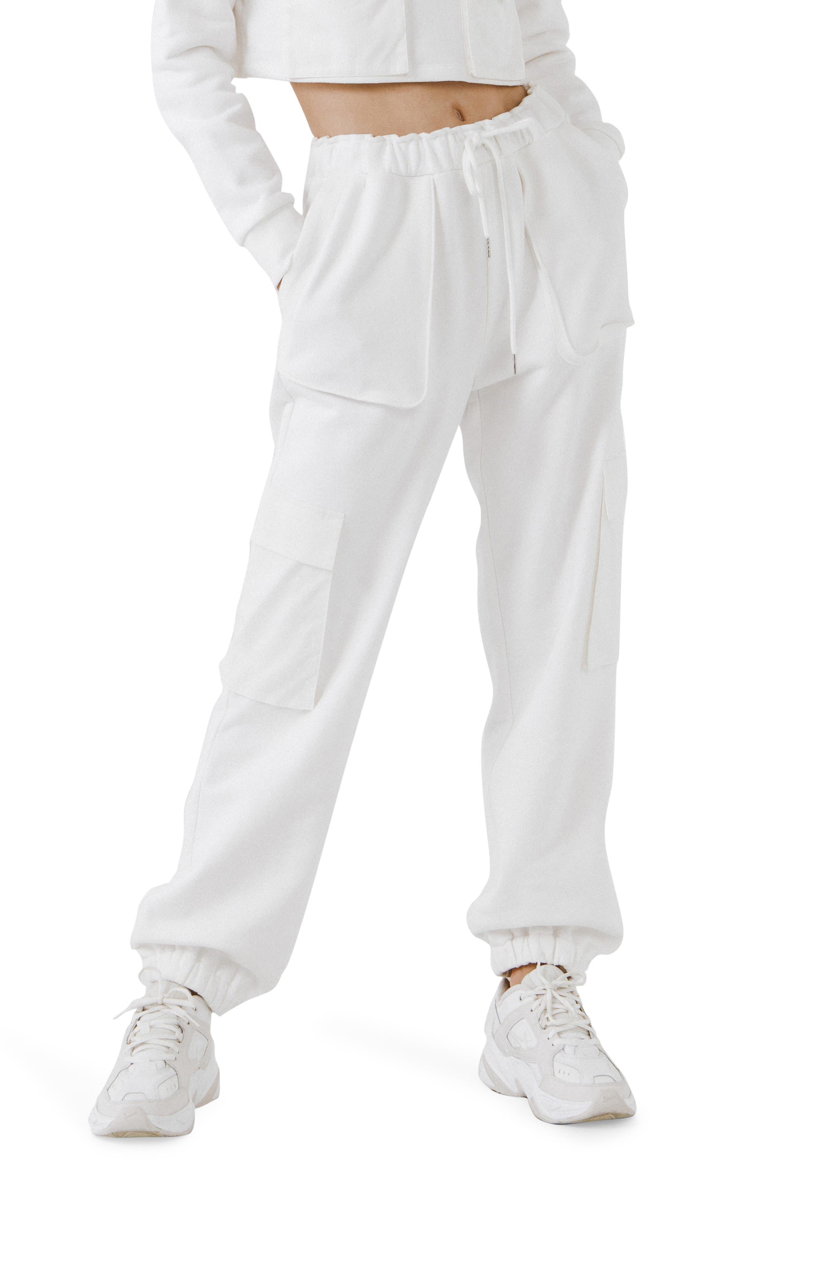 Pocket Loungewear Cotton Joggers