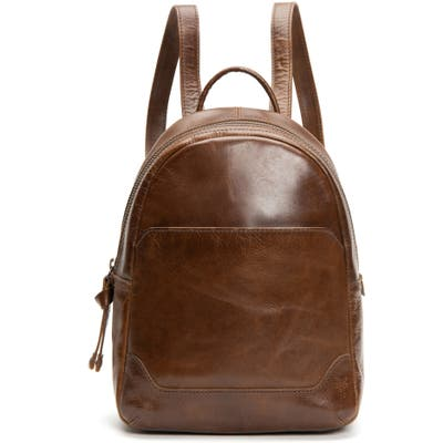 Frye Medium Melissa Calfskin Leather Backpack - Brown