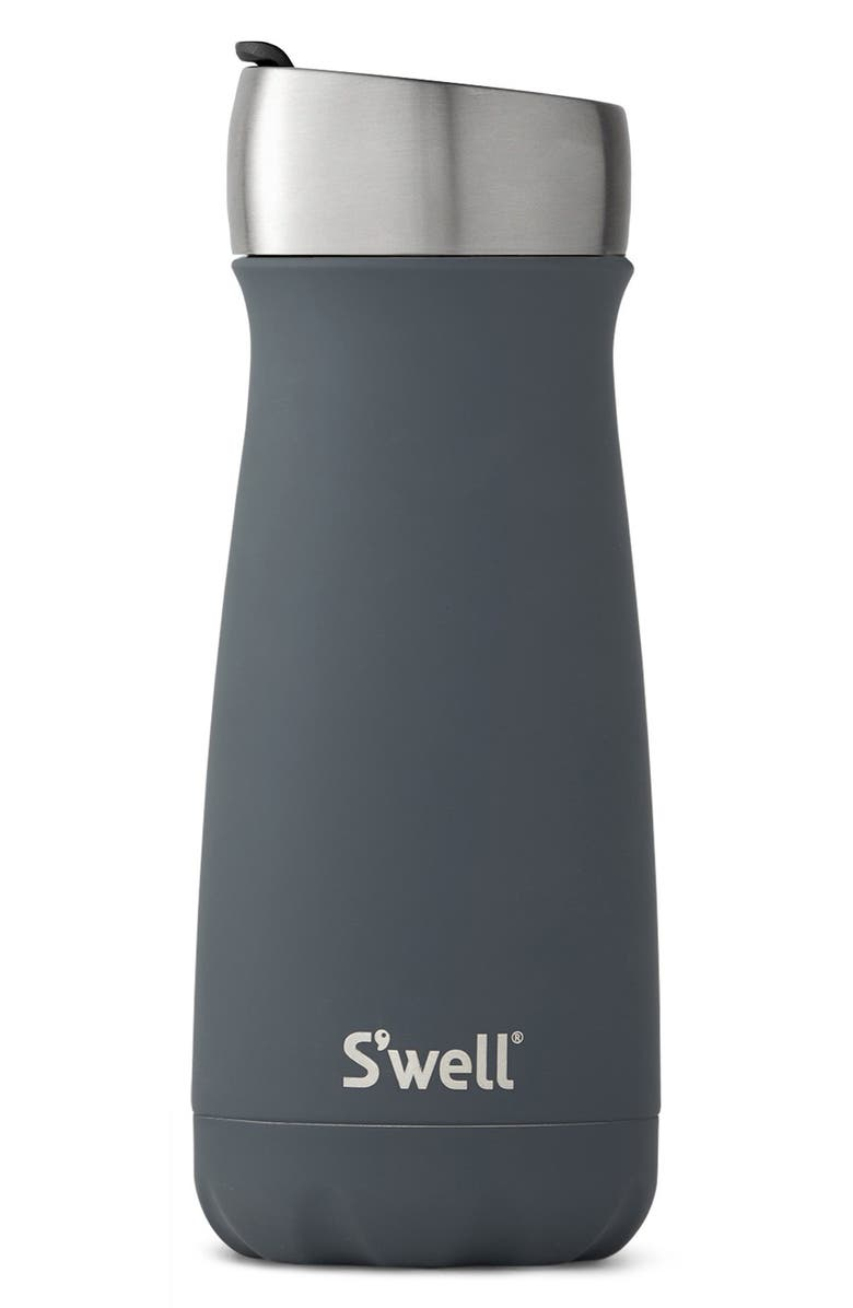S'WELL Dusk 16 Ounce Insulated Stainless Steel Commuter Water Bottle, Main, color, 400