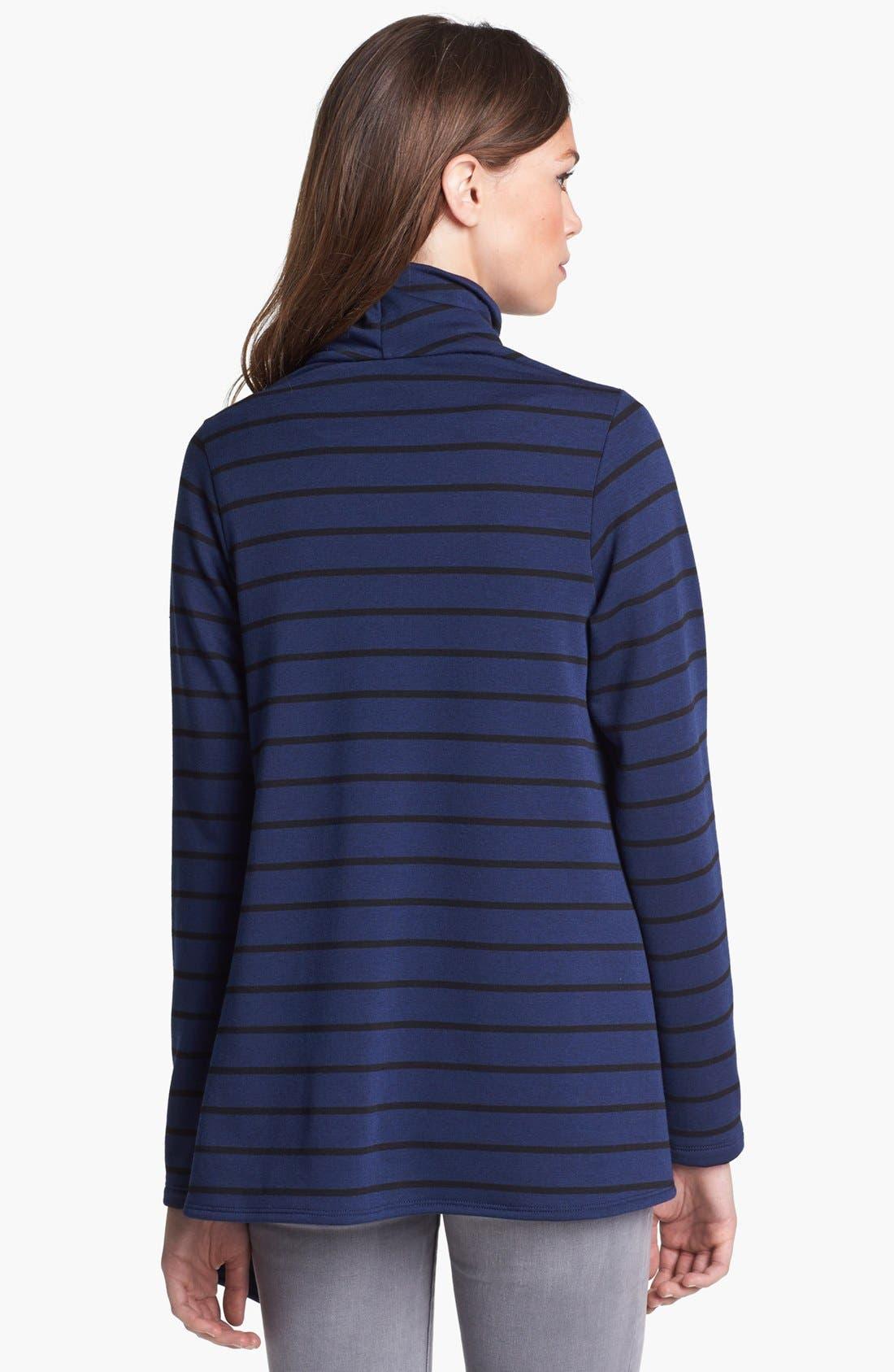 ,                             One-Button Fleece Wrap Cardigan,                             Main thumbnail 108, color,                             407