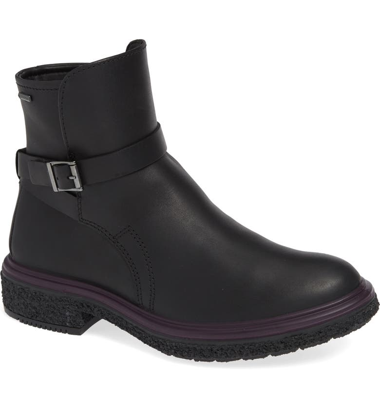 ECCO Crepetray GTX Waterproof Bootie, Main, color, 001
