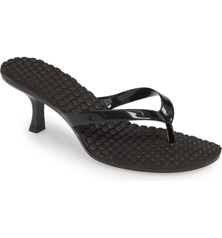 JEFFREY CAMPBELL Slide Sandal, Main, color, BLACK COMBO
