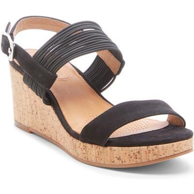 Cc Corso Como Fantazie Wedge Sandal, Black
