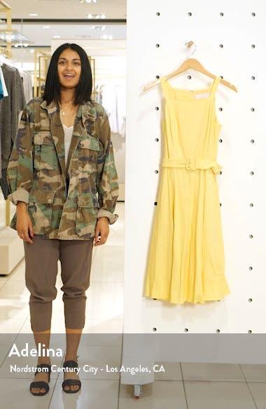 Ruth Square Neck Linen Blend Sundress, sales video thumbnail