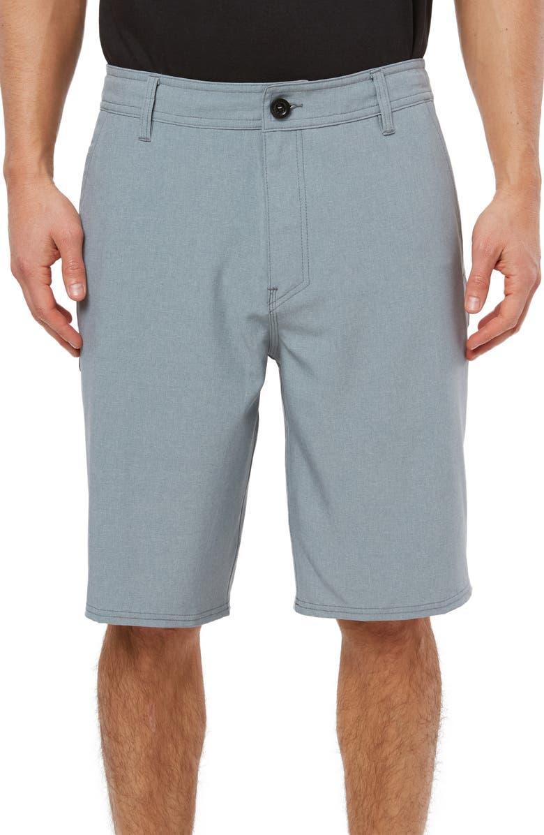 O'NEILL Reserve Heather Hybrid Shorts, Main, color, SMOKE BLUE