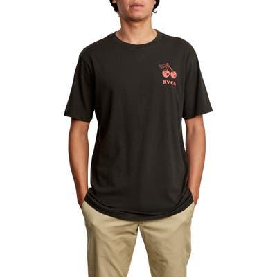 Rvca Bixby Graphic T-Shirt, Black