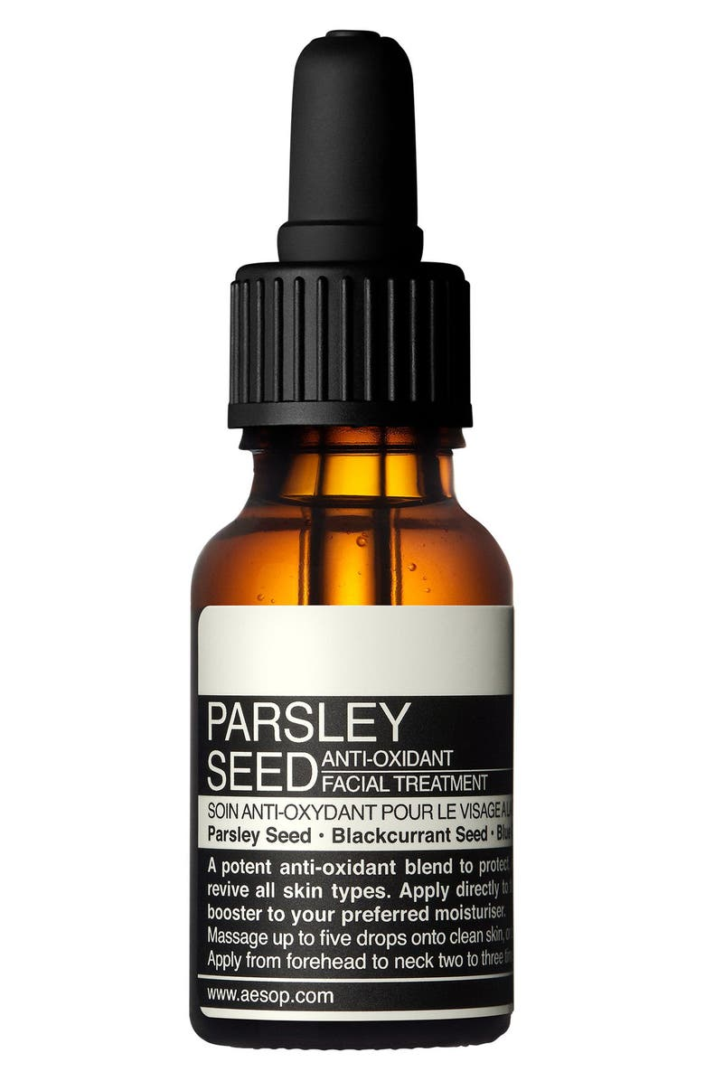 AESOP Parsley Seed Anti-Oxidant Facial Treatment, Main, color, NONE