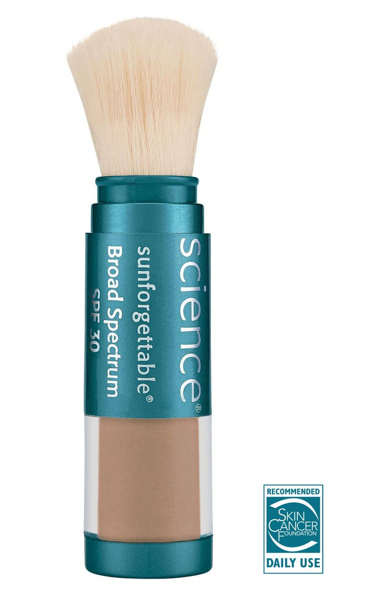 COLORESCIENCE<SUP>®</SUP> Sunforgettable<sup>®</sup> Brush-On Sunscreen SPF 30, Main, color, DEEP