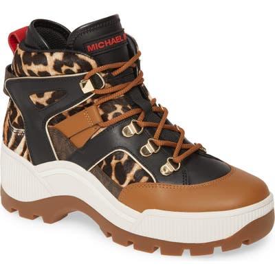 Michael Michael Kors Brooke High Top Sneaker, Brown