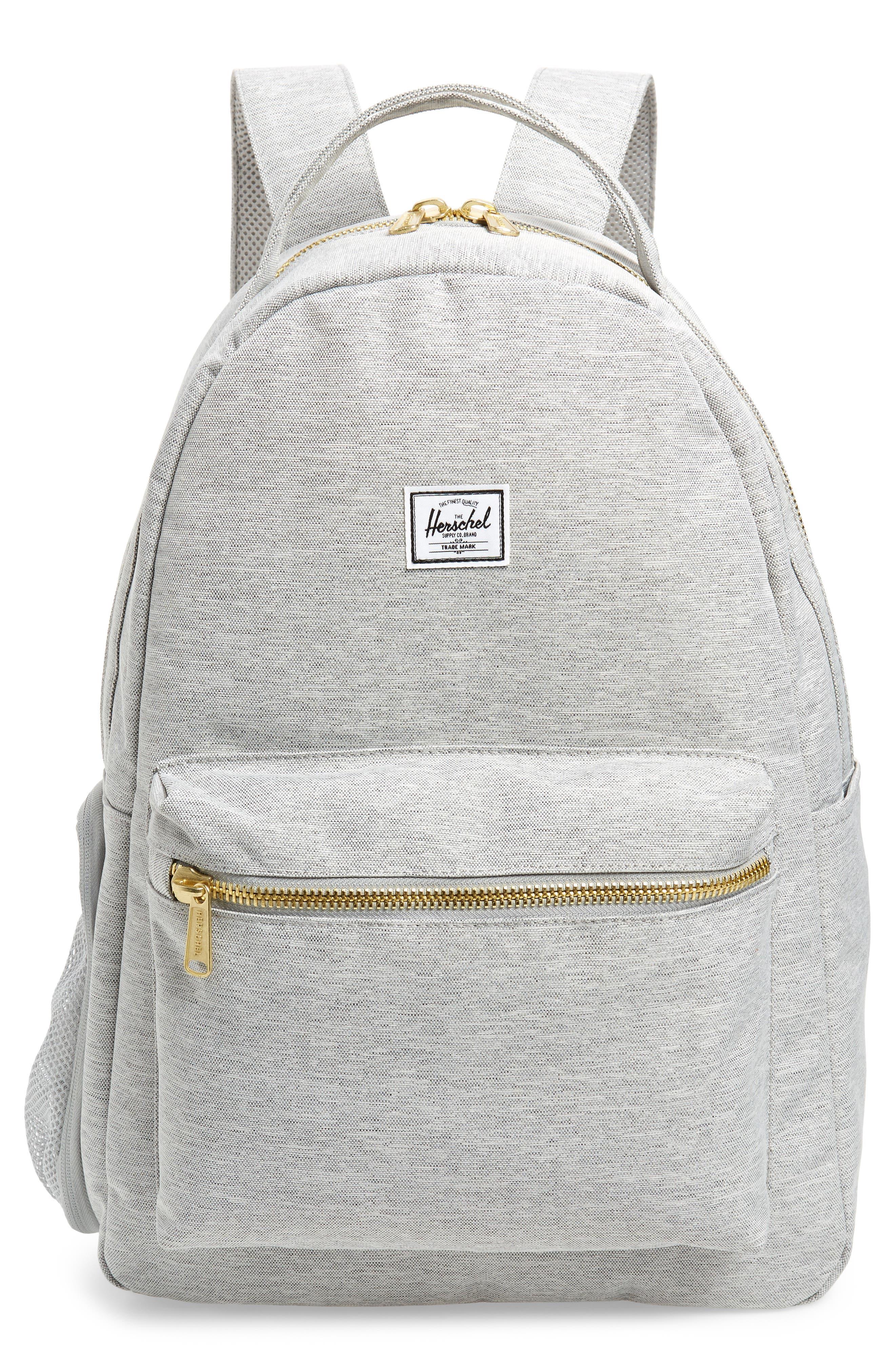 Infant Herschel Supply Co Nova Sprout Diaper Backpack  Grey
