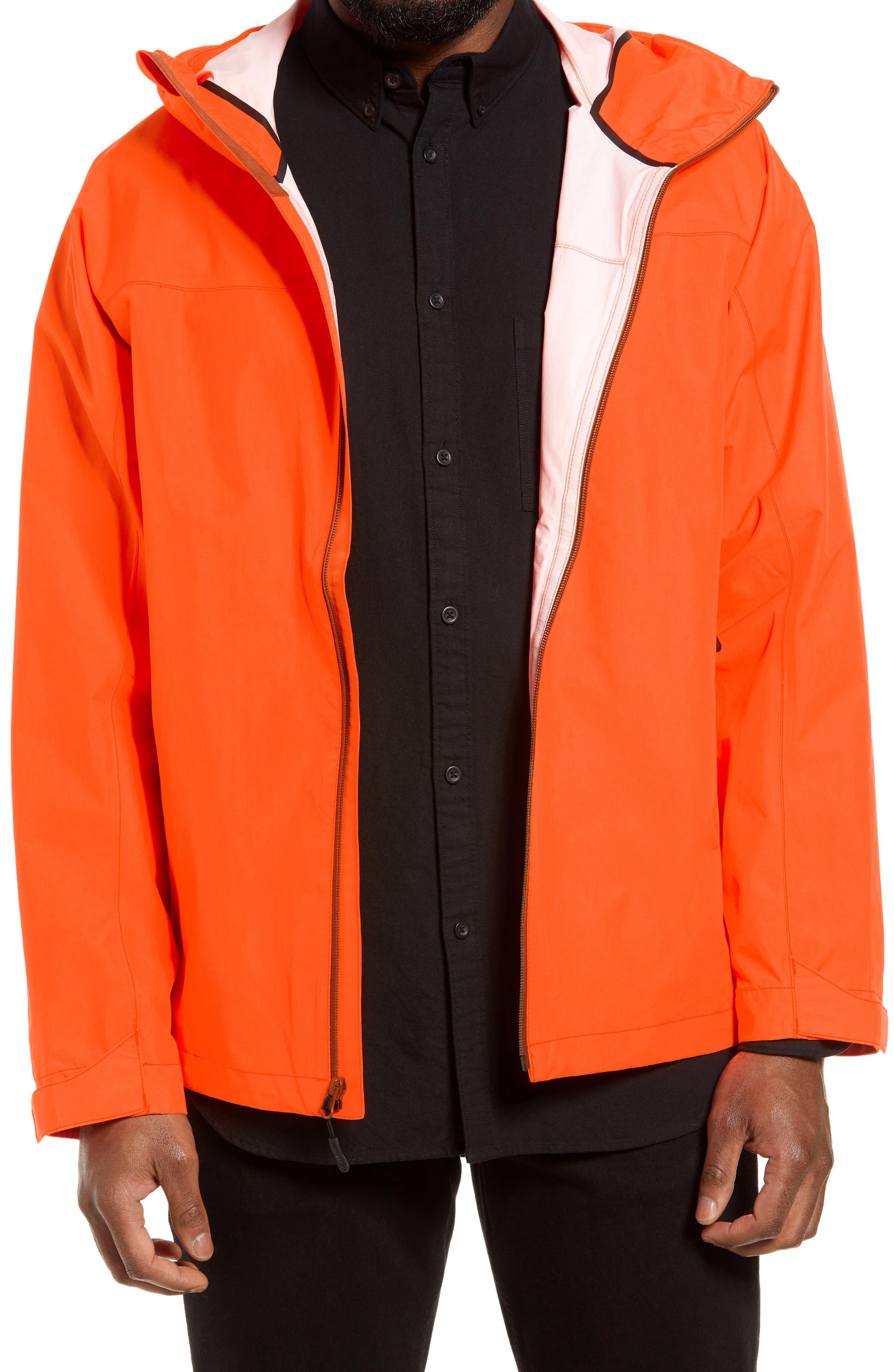Men's Filson Swiftwater Waterproof Hooded Rain Jacket