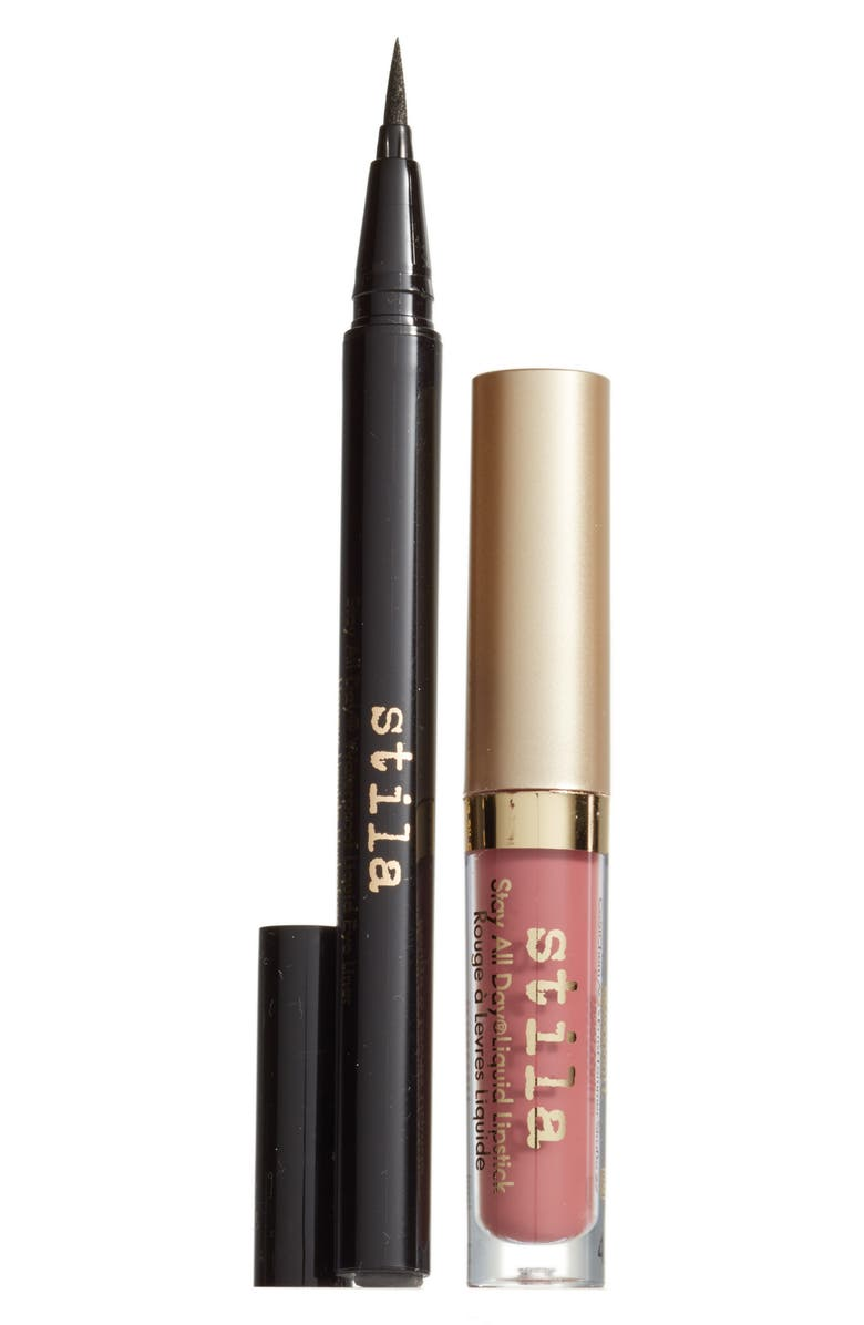 STILA stay all day<sup>®</sup> liner & lipstick duo, Main, color, 000