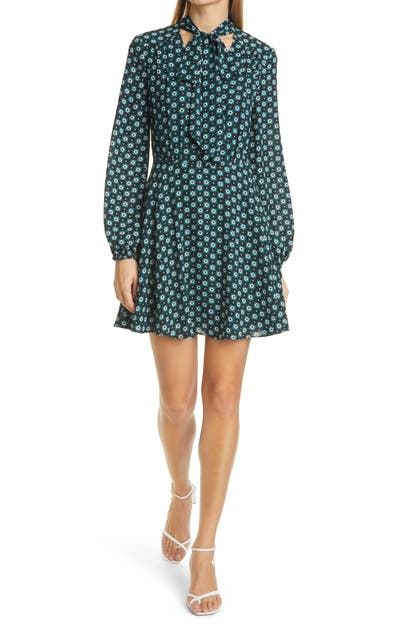 Ted Baker Mini dresses ROCOO LONG SLEEVE FLORAL PRINT MINIDRESS