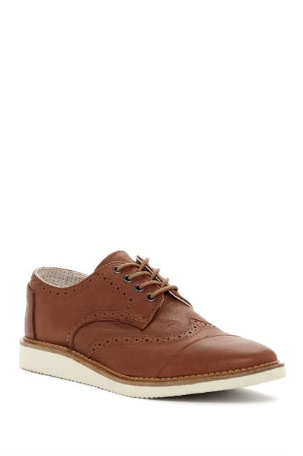 Image of TOMS Brogue Leather Derby