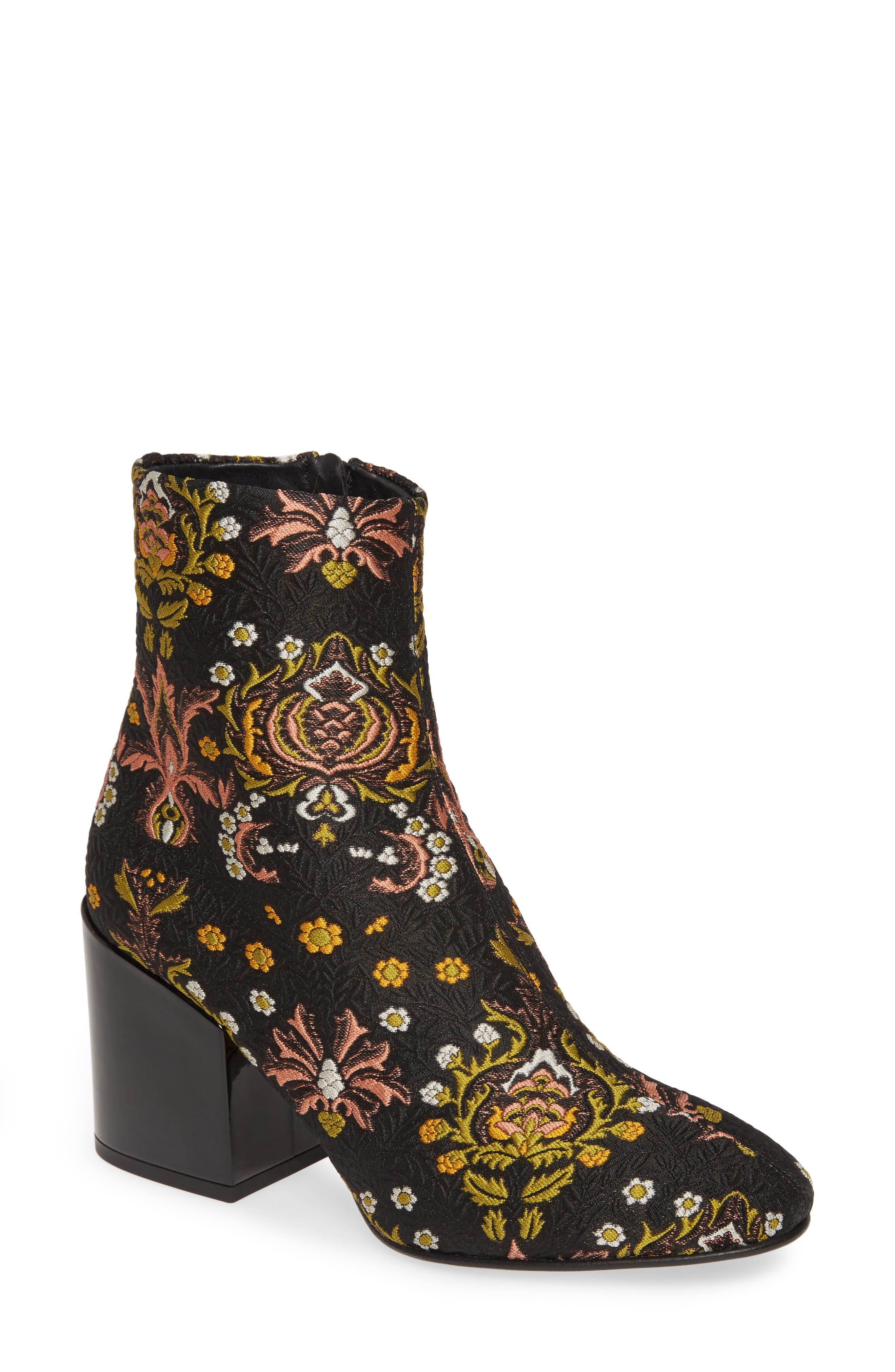 Dries Van Noten Floral Bootie (Women