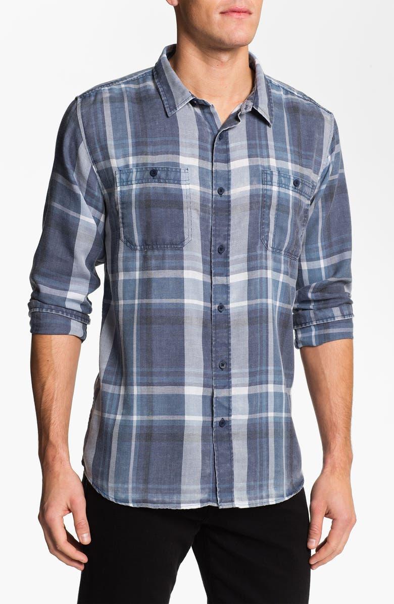 EZEKIEL 'Malibu' Plaid Woven Shirt, Main, color, 400