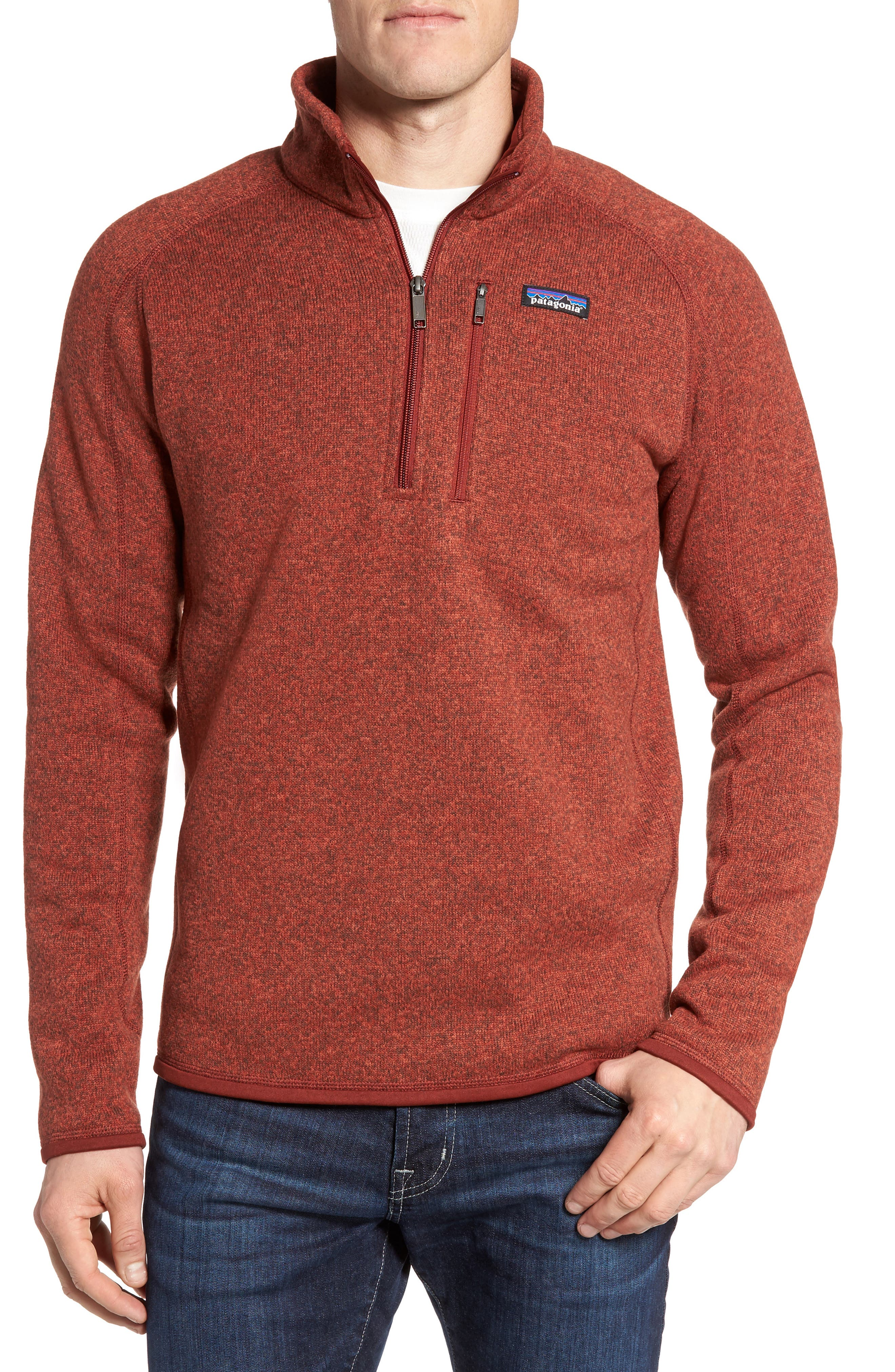 ,                             Better Sweater Quarter Zip Pullover,                             Main thumbnail 168, color,                             602