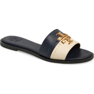 Tory Burch Everly Slide Sandal, Blue