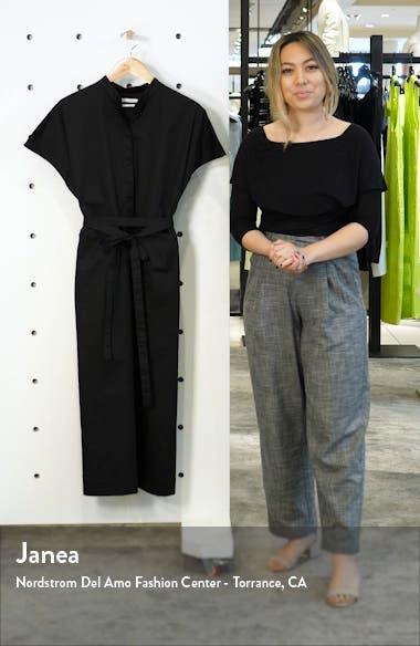 Belted Cotton Shirtdress, sales video thumbnail