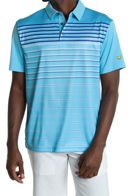 Image of Jack Nicklaus Diffused Stripe Golf Polo