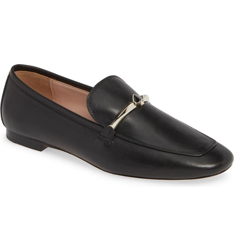 KATE SPADE NEW YORK lana loafer, Main, color, BLACK