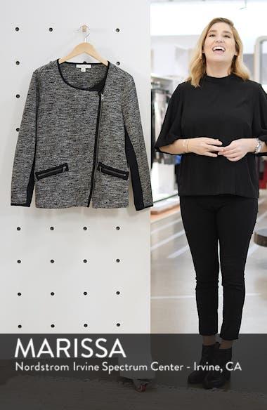 Mix Media Knit Jacket, sales video thumbnail