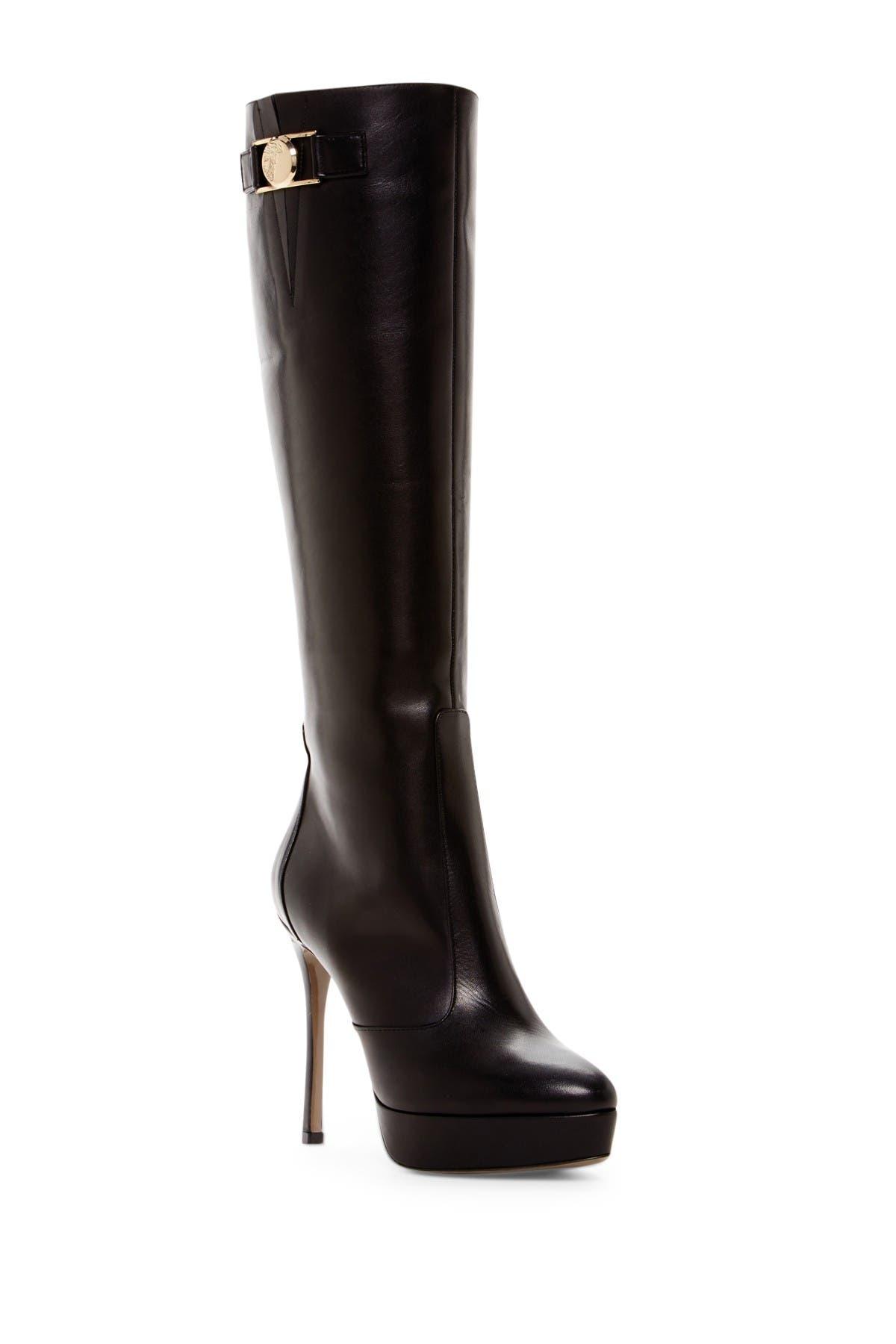 Versace | Platform Heel Boot