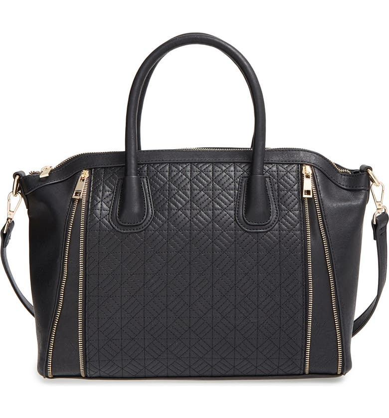 BP. Quilted Satchel, Main, color, 001