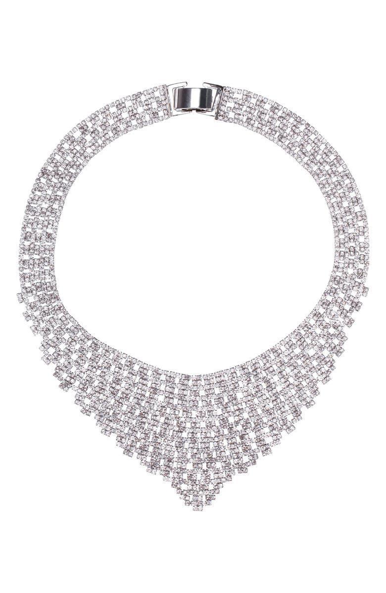 Nina Crystal Bib Necklace