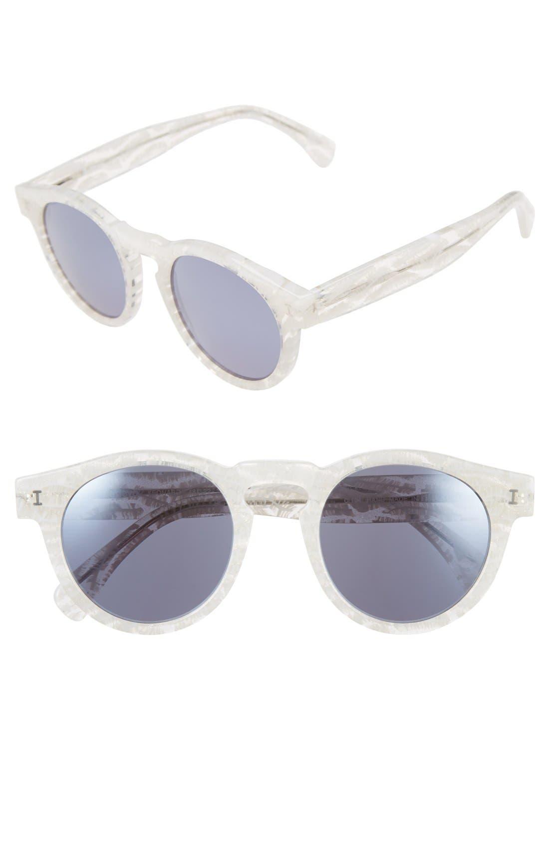 ,                             'Leonard' 47mm Sunglasses,                             Main thumbnail 49, color,                             104