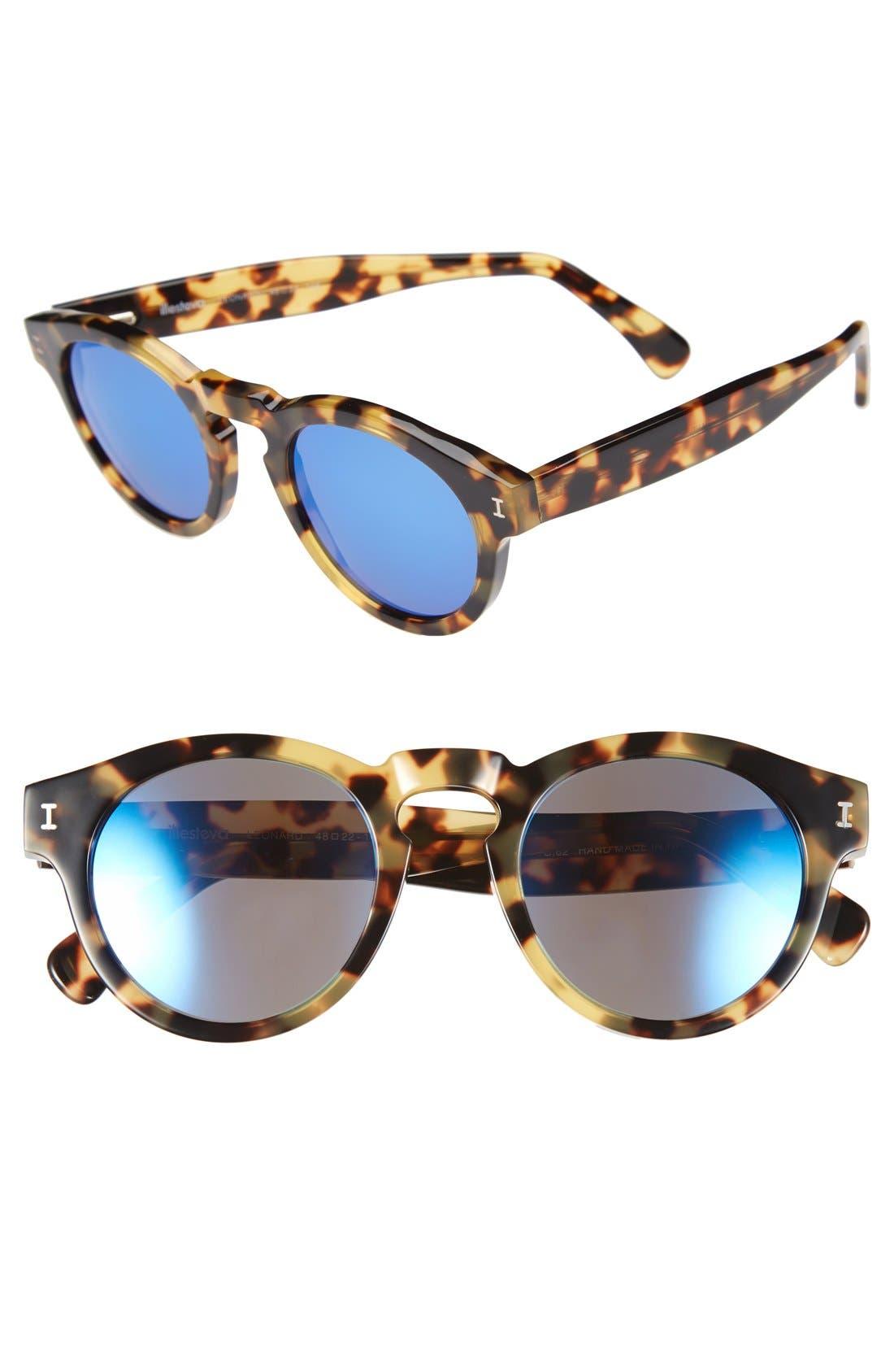 ,                             'Leonard' 47mm Sunglasses,                             Main thumbnail 73, color,                             203