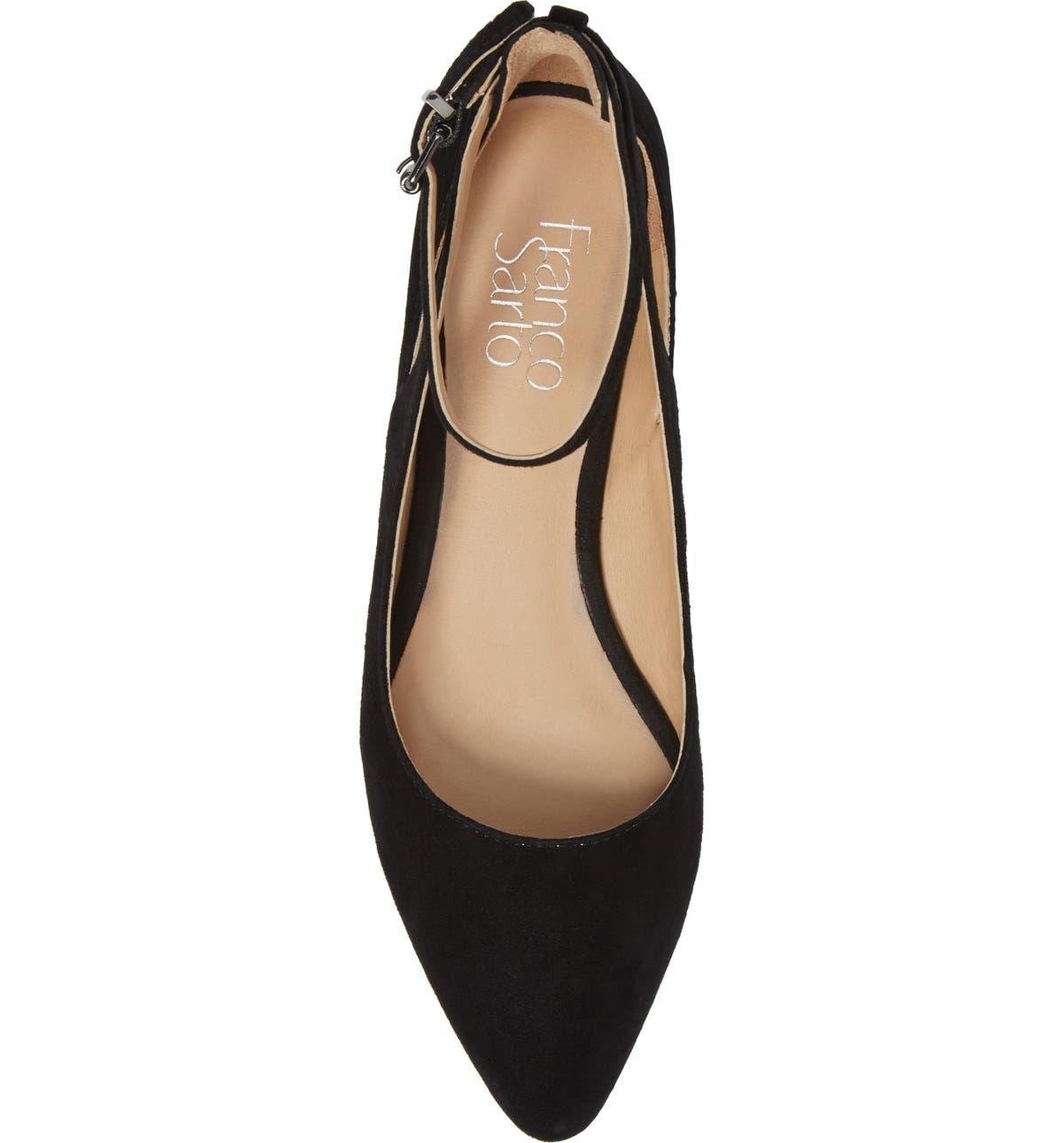 d5e0b7d753d Sylvia Ankle Strap Flat