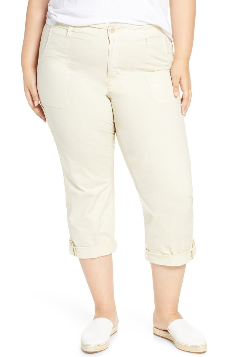 Sanctuary Explorer Patch Pocket Crop Pants Plus Size