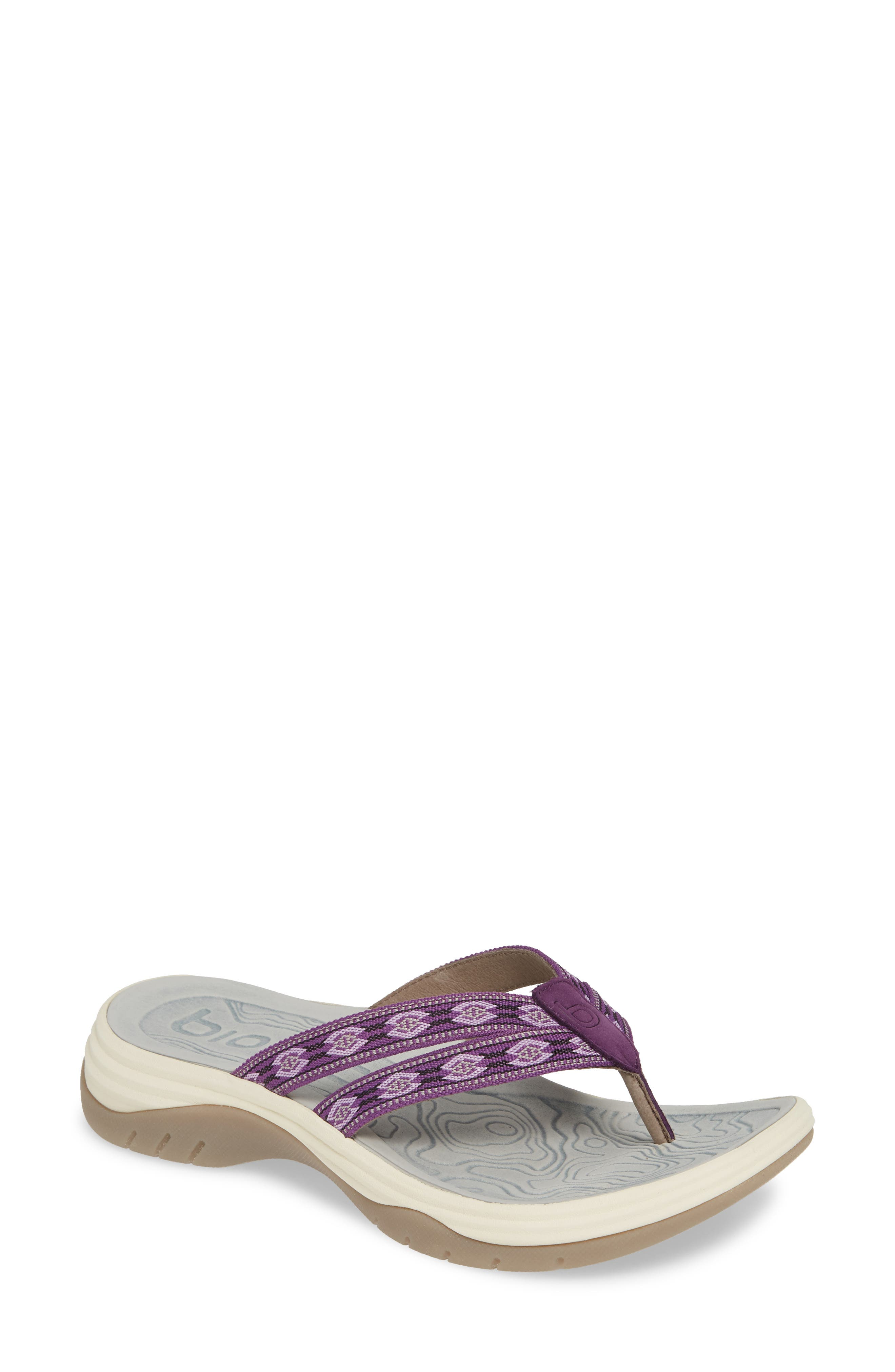 Bionica Nimah Flip Flop, Purple