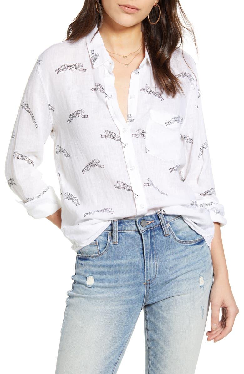 RAILS Charli Shirt, Main, color, CHEETAHS