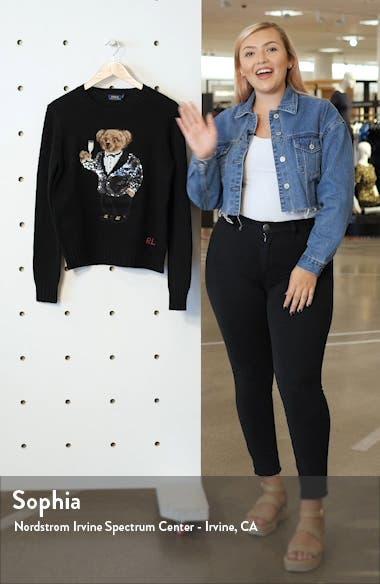 Tux Bear Crewneck Sweater, sales video thumbnail